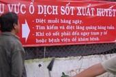 Xuất hiện ổ dịch sốt xuất huyết nguy hiểm tại Hóc Môn