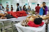 Tai họa khiến bệnh nhân đập đầu, gãy chân