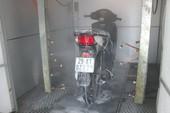 Rửa xe máy tự động