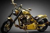 Xe máy mạ vàng, đính kim cương đắt nhất thế giới
