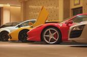 """Dàn siêu xe """"khủng"""" tụ tập tại Qatar"""