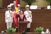 Video: Chủ tịch Quốc hội Nguyễn Thị Kim Ngân tuyên thệ nhậm chức