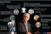 Những dấu ấn cuộc đời cố Tổng thống Israel Shimon Peres