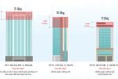 Infographics: Những cao ốc bị 'cắt ngọn' ở Hà Nội