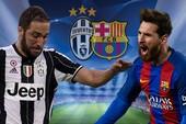 Thông tin thú vị trước đại chiến Juventus - Barcelona