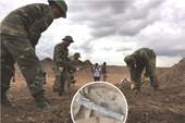 Video: Tìm thấy nhiều di vật của liệt sĩ ở Tân Sơn Nhất