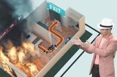 Kỹ năng thoát hiểm khi xảy ra cháy trong nhà ống