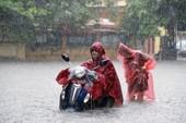 18 điểm mưa ngập ở Hà Nội