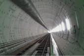 Hầm ngầm metro TP.HCM sau 90 ngày thi công