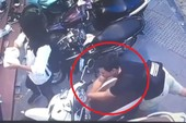 Trộm bẻ khóa xe SH 'thần tốc' trước mặt 3 nữ sinh