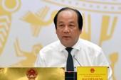'Không có vùng cấm trong kiểm tra cán bộ lãnh đạo'