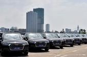 Hàng trăm xe Audi sẵn sàng phục vụ APEC 2017