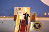 Chùm ảnh Tổng thống Donald Trump tới Hà Nội