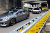 Rào chắn cải tiến giúp giảm thiểu tai nạn giao thông