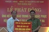 Hơn 1,1 tỉ đồng giúp người dân vùng lũ Quảng Nam