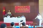 Bí thư Bà Rịa-Vũng Tàu chia sẻ về vụ giám đốc sở xin nghỉ việc