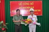 Bổ nhiệm thêm một phó giám đốc Công an tỉnh Bà Rịa-Vũng Tàu