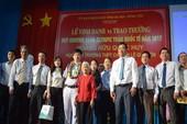 Hoàng Hữu Quốc Huy được tỉnh BRVT thưởng 300 triệu đồng