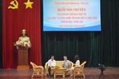 GS Ngô Bảo Châu nói chuyện với HS, SV Bà Rịa- Vũng Tàu