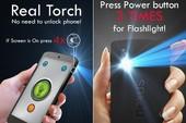 Dùng nút nguồn bật đèn LED trên smartphone
