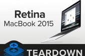 Khám phá bên trong Macbook Retina 2015