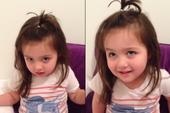 Clip bé gái làm theo lời mẹ siêu cute