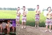 Clip: Trai làng hóa thân thành thiên thần nhảy Audition trên bờ ruộng