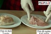Kinh hoàng với hóa chất biến thịt heo thối thành tươi ngon
