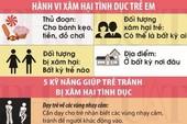 Infographic: 5 nguyên tắc vàng giúp trẻ tránh khỏi 'yêu râu xanh'