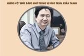 Infographic: Con đường công danh của ông Trịnh Xuân Thanh