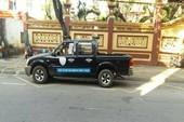 Đà Nẵng: Dân mách CSGT xe biển xanh vi phạm