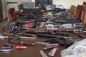 Bắt cả 'kho' vũ khí sắp bán ra 'thị trường' Đà Nẵng