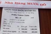 Phạt 15 triệu đồng nhà hàng ở Đà Nẵng 'chặt chém' khách