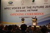 Gần 200 thanh niên APEC dự diễn đàn tiếng nói tương lai