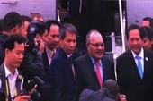 Đoàn lãnh đạo thứ hai tới dự APEC 2017 tại Đà Nẵng