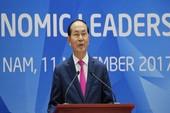 Chủ tịch nước chủ trì họp báo Hội nghị lãnh đạo APEC