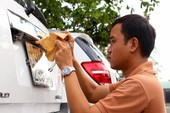 CSGT TP.HCM nói gì về việc bỏ hộ khẩu khi đăng ký xe?
