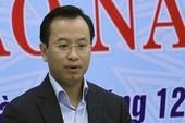 Thôi ủy viên TƯ, cách chức Bí thư ông Nguyễn Xuân Anh