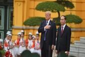 Lễ đón chính thức Tổng thống Mỹ Donald Trump