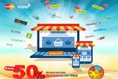 Nhiều ưu đãi lớn khi mua sắm trực tuyến