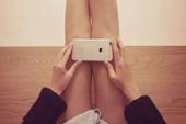 Sử dụng iPhone 6 để đo độ thon của chân