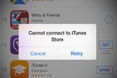 Người dùng iPhone than trời vì App Store gặp sự cố