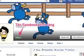 Cách làm tên cá nhân trên Facebook phát sáng