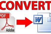 5 ứng dụng chuyển PDF sang Word tốt nhất hiện nay