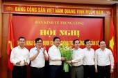 Ông Đinh La Thăng nhận nhiệm vụ tại Ban Kinh tế TƯ