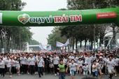 'Chạy vì trái tim' thu hút 15.000 người tham dự