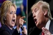 Trump bất ngờ dẫn trước khiến bà Clinton lo sốt vó