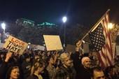 Biểu tình phản đối ông Trump đắc cử tiếp diễn đêm thứ 3