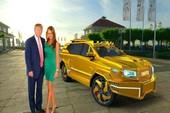 Đề xuất siêu xe mạ vàng cho ông Trump ngày nhậm chức