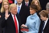 Khoảnh khắc ấn tượng tại lễ nhậm chức của ông Trump